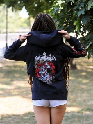 Nokturnal Mortum – Маки / Poppies Lady Hooded Sweat Jacket