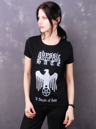 Abyssic Hate – A Decade Of Hate Lady Fit T-Shirt