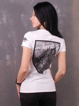 Burshtyn – Безвірник / Bezvirnyk Lady Fit T-Shirt White