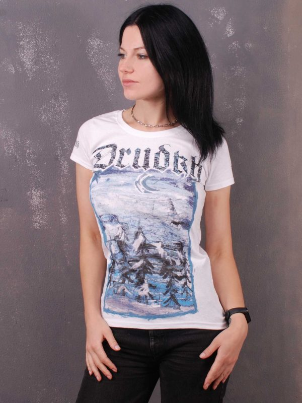 Drudkh – Night Lady Fit T-Shirt White