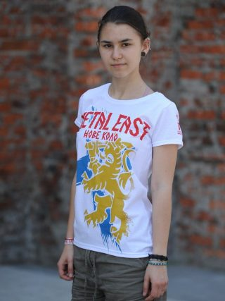 Metal East – Suomi Division 2019 Lady Fit T-Shirt White