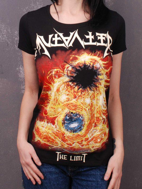 Mutanter – The Limit (Album Cover) Lady Fit T-Shirt Black
