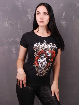NOKTURNAL MORTUM – Маки / Poppies Lady Fit T-Shirt