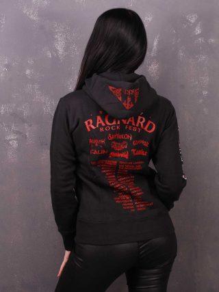 Ragnard Rock Fest – Children Of Yggdrasil Lady Hooded Sweat Jacket