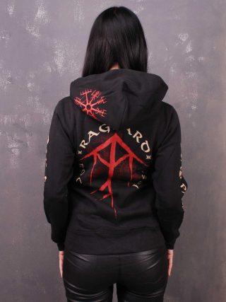 RAGNARD Rock Fest – Stay Pagan Lady Hooded Sweat Jacket
