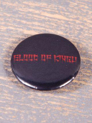 Blood Of Kingu Logo Round Pin