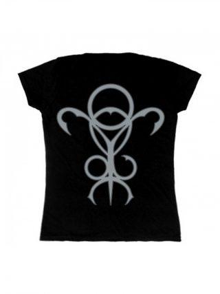 NOKTURNAL MORTUM – Lunar Poetry Logo Lady Fit T-Shirt