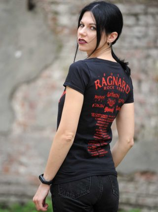 Ragnard Rock Fest – Children Of Yggdrasil Lady Fit T-Shirt