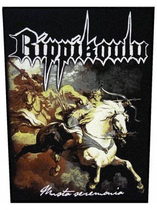 Rippikoulu – Musta Seremonia Back Patch