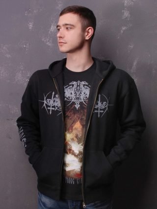 Nokturnal Mortum – Голос Сталі / The Voice Of Steel Album Cover 2015 Hooded Sweat Jacket