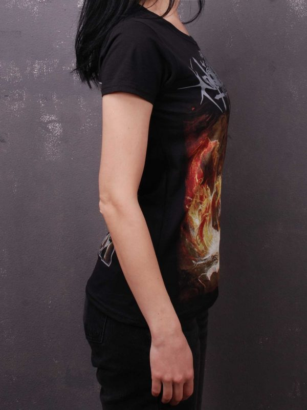 Nokturnal Mortum – Голос Сталі / The Voice Of Steel Album Cover 2015 Lady Fit T-Shirt