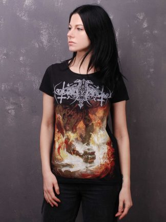 Nokturnal Mortum - Голос Сталі / The Voice Of Steel Album Cover 2015 Lady Fit T-Shirt