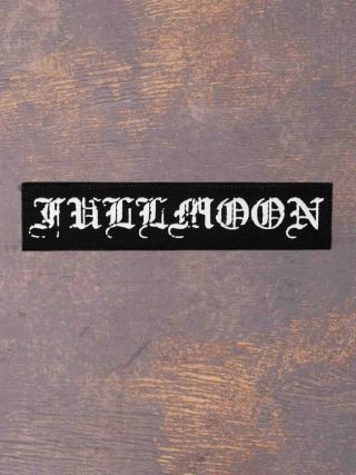 Fullmoon Logo Printed Patch