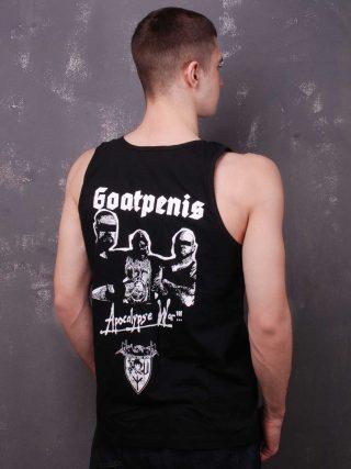 Goatpenis – Apocalypse War A-Shirt Black