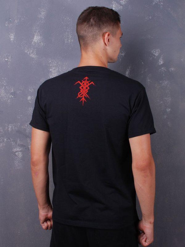 Nokturnal Mortum – Logo 2021 Red Rune TS Black