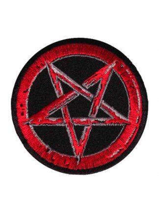 Pentagram (Red) Patch