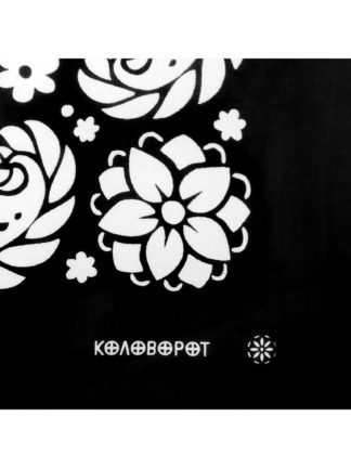 Flowers Bandana Black
