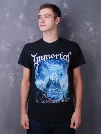Immortal - At The Heart Of Winter (Gildan) TS Black