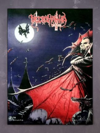 Necromantia – Crossing The Fiery Path Flag