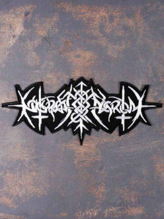 Nokturnal Mortum - Logo 2021 Molfa Back Patch