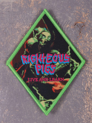 Righteous Pigs – Live And Learn Green Patch